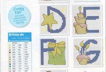 Gráficos de alfabetos