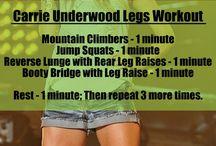 Work it out! / by Kelly Wilkinson