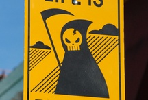 Warning signs / by revrant design