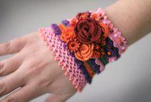 bracelet crochet,hačk.náramky a iné