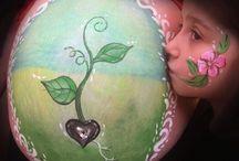 malowanie brzucha