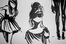 Art | Fashion Sketches