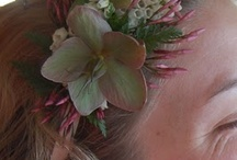 Inspirations: Hairpieces / by Rose of Sharon Floral Designs, Althea Wiles