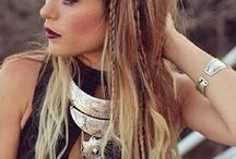 Coachella Hairstyles / Festival inspired hair for the spring and summer