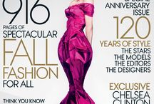The September Issue: Favorite Vogue Covers / by Caron Hodges