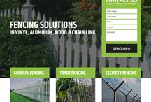 fencing landing pages