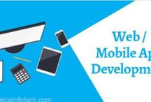 web design, mobile application