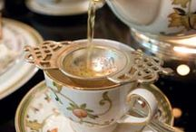 Afternoon Tea / A social occasion where best manners are on display along with fine china, flowers, lace & dainty foods. Traditional magic!