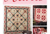Quilts with hearts / Квилты с сердцами