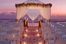 Beach Wedding / The freedom of the sand in your toes and calming sound of waves rolling up the beach make beach weddings very relaxed affairs.