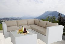White Outdoor Lounges