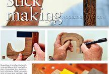 stick making
