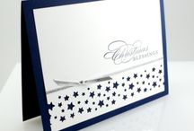 Star punch border card
