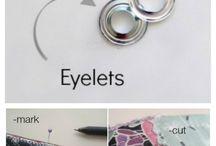 eyelet for bag