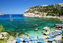 Beaches of Rhodes / Discover the beautiful beaches of the Island of Rhodes, Greece