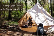 Çadırda soba