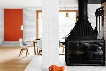 Fireplace ideas / Chimenee