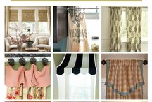 DIY Window Treatments / Tutorials and ideas  for Do It Yourself window treatments #diyhome #diy #windowtreatments