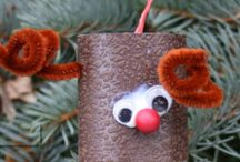 Kids Christmas Crafts / Kids holiday craft projects