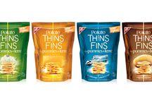 Potato Thins / Potato Thins. Designed by Pigeon Brand Design.