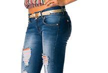 jeans bota ancha oufists