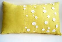 Decorative pillow inspiration / Custom accent pillows
