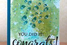 """""""Congratulations Cards"""" I made"""
