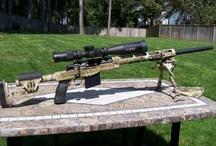 Rifle scope / Refle scope--Bipod--Adaptor--Laser