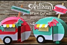 Summer Paper Crafts / Camping, watermelons, lemonade, etc! Check out this board for bright, fun summer paper craft ideas!