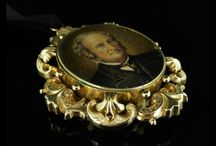 Antique Mourning Jewellery / A stunning collection of Mourning Jewellery steeped in history from the 18th century through to the Victorian Period. Mourning Jewellery has been worn from the middle ages up until the Victorian era. Mourning jewellery consists of formulaic rings made of gold and black enamel and decorated with standard memento mori such as skulls and coffins.
