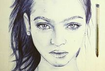 Miss gribouillis#Drawing bic