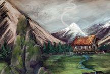 Efène : la vallée des géants / Une aventure fantastique où vocabulaire et valeurs seront au premier rang.