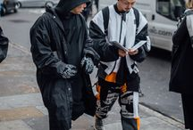 ⅡⅡ COMB - London Collections Men - Day 4 Street Style / Taken in January 2016