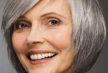 Grey and Gorgeous / Grey hair, Silver Foxes