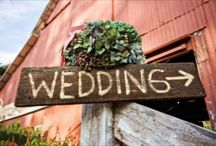 "MY ""barn"" wedding / by Rebecca FALL Rader"