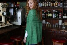 Summer Knitwear / Authentic Irish sweaters, shawls and capes suitable for Summer