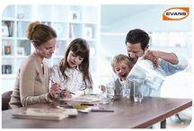 Momentos en familia / Es imporante cuidar de la salud de la familia, no sólo de la alimentación tambien del agua que se bebe, en Evans® buscamos que cada momento con tus seres queridos te sientas tranquilo de darles lo mejor, esto mejora su calidad de vida y fortalece tu tranquilidad.
