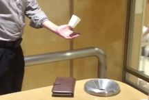 Real Life Magicians In Japan / Japanese old teacher performs real life magic in public. But this one beats all. Video shows this man in a mall levitation a cup and a cigarette.
