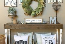 Country cottage wall gallery