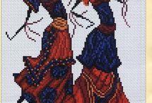 Cross stitch / Africa