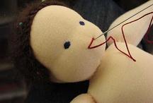 muñecos y telas