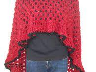 ponczo, sweter, kamizelka