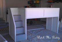 bedrooms- bunk beds