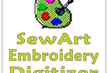 Embroidery Software sold by AKDesigns Boutique / Embroidery Software offered at AKDesigns Boutique - Monogram Wizard Plus, Extended Features for MWP, MWP Gift Cards [Needleheads Gift Cards, SewWhat-Pro, SewArt, Embird Basic and Embrid Font Engine