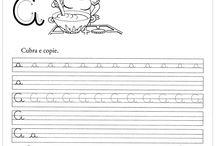 Textos de caligrafia