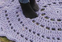 crochet rugs / koberce
