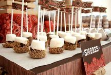 Candy Buffet and Dessert Station Ideas / Yummy stuff for your wedding's candy buffet and/or dessert station.