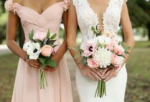 The Charlotte Collection / RENT THE CHARLOTTE COLLECTION FOR YOUR WEDDING   WE SHIP NATIONWIDE The Charlotte Collection is a romantic look with soft pinks and white made up of many varieties including anemones, garden roses, dahlias, peonies and even hints of lavender.