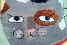 GATOS ARTÍSTICOS / Gatos de Oswaldo Flump
