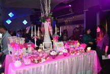 Sweet Table / Allestimento tavolo confettata/caramellata per feste private